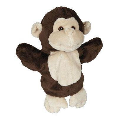 Soft Plush Monkey Puppet  27cm By Ravensden