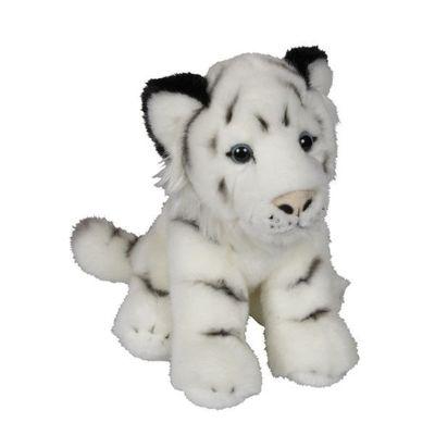 Soft Plush White Tiger 23cm By Ravensden