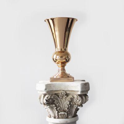 31cm x 17cm Gold Urn