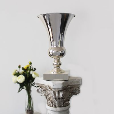 41cm Silver Plated Urn