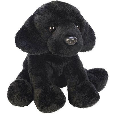Yomiko Sitting Black Labrador Dog