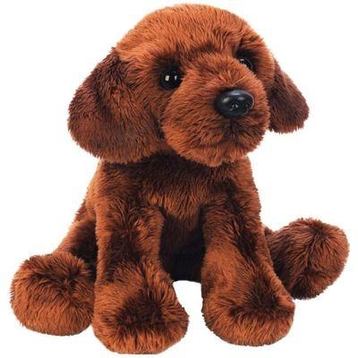 Yomiko Sitting Chocolate Labrador Dog