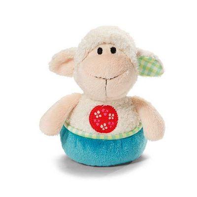 Nici Plush Grabber Lamb With Rattle