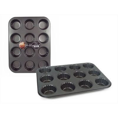 12 Cup Non-stick Muffin Flower Tray
