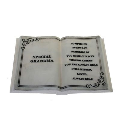Medium Special Grandma Memorial Plaque