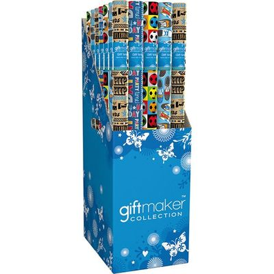 Gift Wrap  3m Male Traditional