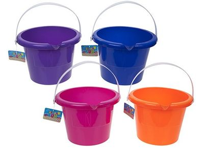 Diameter Giant Round Bucket With Lip & Pour Handle 7x10inch