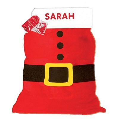 Personalise your own Santa Sack
