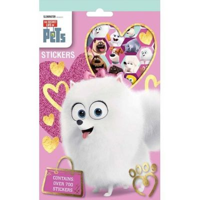 Secret Life Of Pets 700 Stickers
