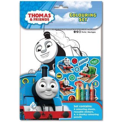 Thomas Colouring Set