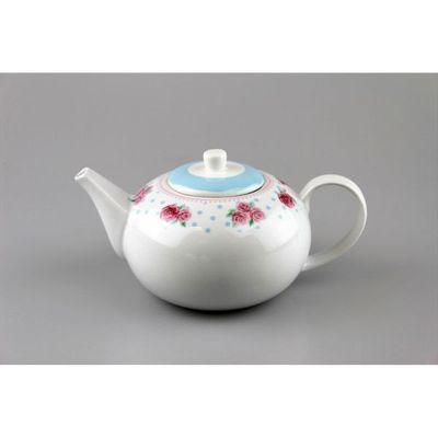 Porcelain Tea Pot 1 Litre Afternoon Tea Design