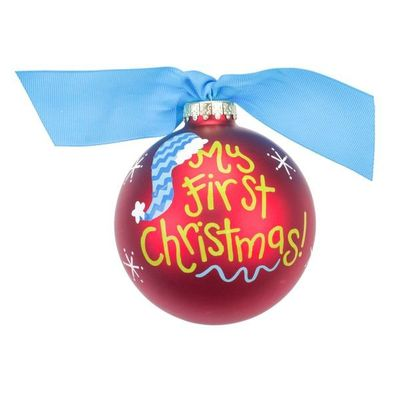 Coton Colors Bauble 10cm - My First Christmas