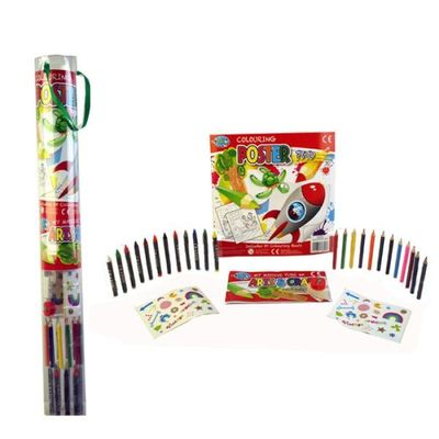 Tube Of Poster Colouring Crafts