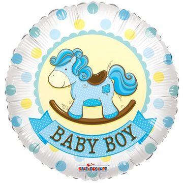 Baby Boy Rocking Horse Gellibean