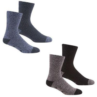 Mens 2pk H&t Cosy Socks