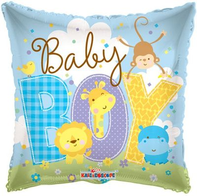 Baby Boy Animals Balloon