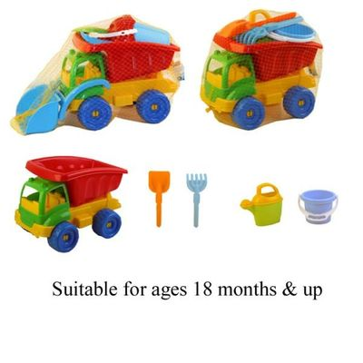 Truck With Beach Set (2 Assorted)