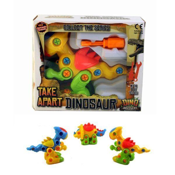 Diy Dinosaur (4 Assorted)