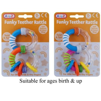 Funky Rattle Teether